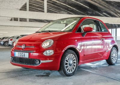 Fiat 500 à Marseille Saint-Charles